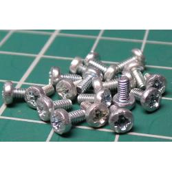 Screw, M2x4, Head