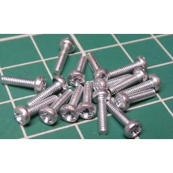Screw, M2x6, Head