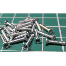 Screw, M2x10, Head Countersunk