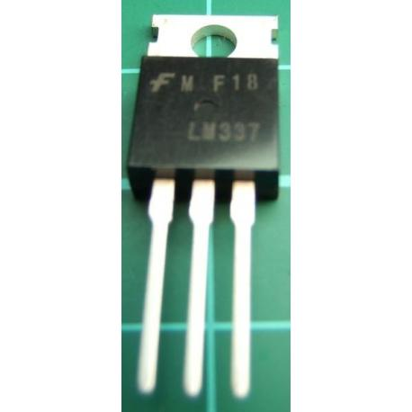 LM337, -1.2--37V Adjustable, 1.5A Voltage Regulator