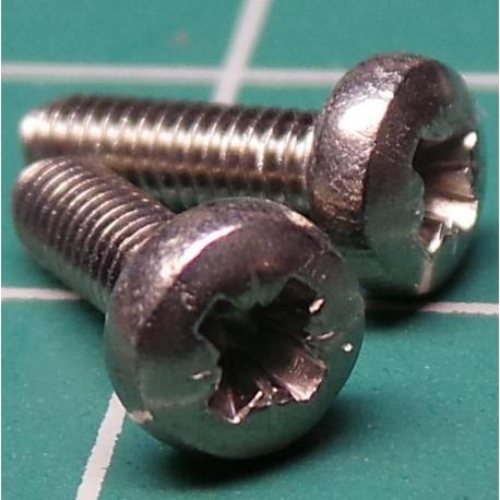 Screw, M2.5x9, Head