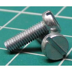 Screw, M3x10, Cheese Head, Slotted