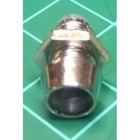 LED Bezel, Holder, 3mm, Silver