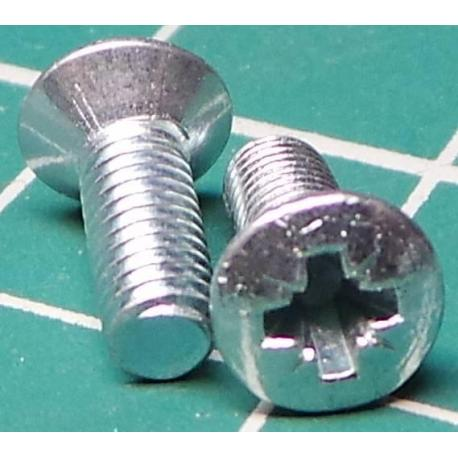 Screw M3x7 Countersunk Head
