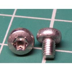 Screw, M3x4, Cheese Head, Torx