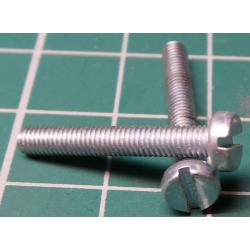 Screw, M3x20, Cheese Head, Slotted