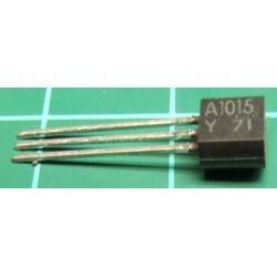 2SA1015, PNP Transistor, 50V, 0.2A, 0.4W