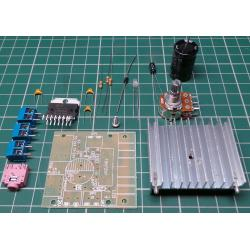 TDA7297, 15W + 15W Stereo Audio Amplifier Board, Kit