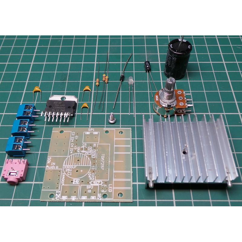 Tda7297 15w 15w Stereo Audio Amplifier Board Kit Dsmcz