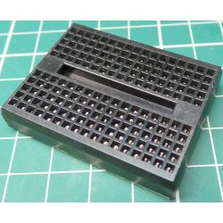 Breadboard, 47x35mm, 170 Hole, Black