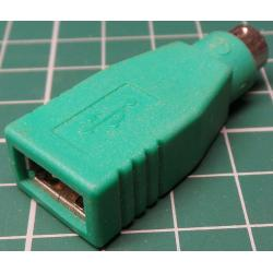 USB to PS/2 Adaptor, Old Stock