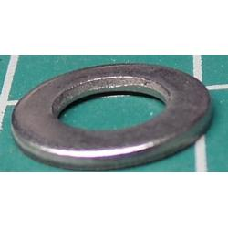 Washer, M5, 10mm diameter, Stainless Steel