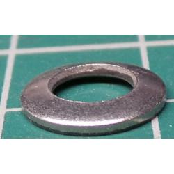 Washer, M5, 9mm Diameter, Stainless Steel