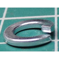 Split Washer, M5, 9mm Diameter