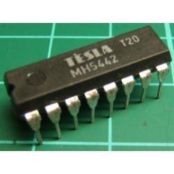 7442, MH5442 ( 7442 Mil Spec), TESLA, BCD to decimal decoder