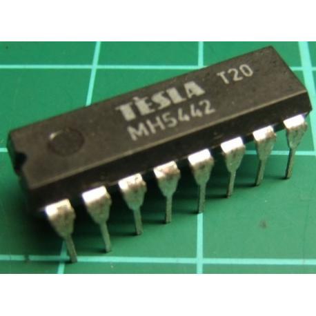 MH5442, (7442 Mil Spec), TESLA, BCD to decimal decoder