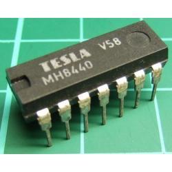 7440, MH8440 (Hi spec 7440), TESLA, dual 4-input NAND buffer