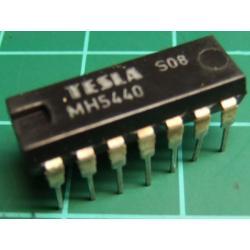 7440, MH5440 (Mil spec 7440), TESLA, dual 4-input NAND buffer