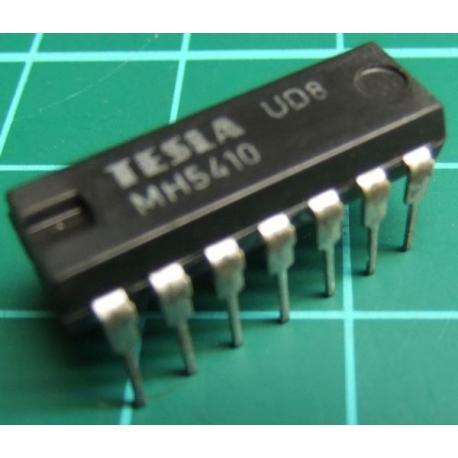MH5410 (Mil Spec 7410), TESLA, triple 3-input NAND gate
