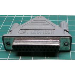 25 Pin D type to PS/2 Adaptor, Used