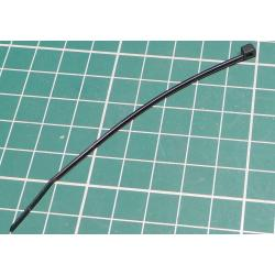 Cable Tie, 2.5x205mm, Black