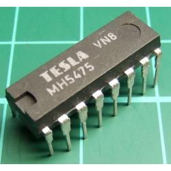 7475, MH5475 (Mil Spec 7475), TESLA, 4-bit bistable latch