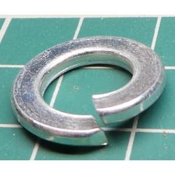 Split Washer, M10, 17mm Diameter