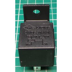 Car Relay, 12V, 40A, 28x28x25mm with Mounting Hole, NVF4-2