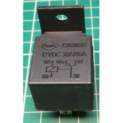 Relay auto NVF4-2 24V / 40A 27x27x25mm with stirrup