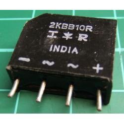 2KBB10R, Bridge rectifier, 1.9A