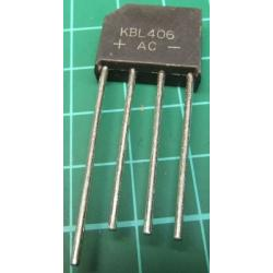 KBL406, Bridge Rectifier, 4A, 800V