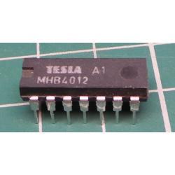 4012 2x 4 input NAND