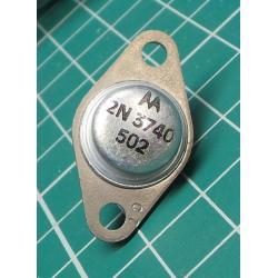 2N3740, PNP Transistor, 60V, 10A, 25W