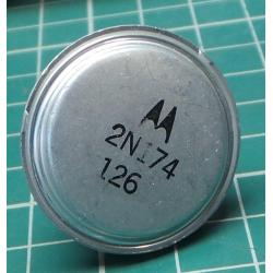 2N174, PNP Germanium Transistor, 80V, 15A, 150W
