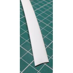 8mm / 4mm, Heatshrink, White