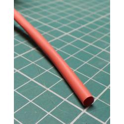 4mm / 2mm, Heatshrink, Red