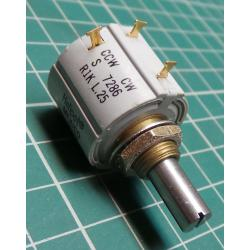 Potentiometer, multi turn, 1K, LIN