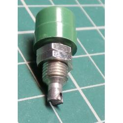 Banana Socket, 4mm, Green