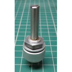 Potentiometer, sealed, 10K, Lin