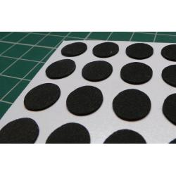 Self Adhesive Foot,Felt,Dia 10mm,Height 1mm