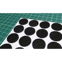 Self Adhesive Foot, Felt, Dia 20mm, Height 2mm
