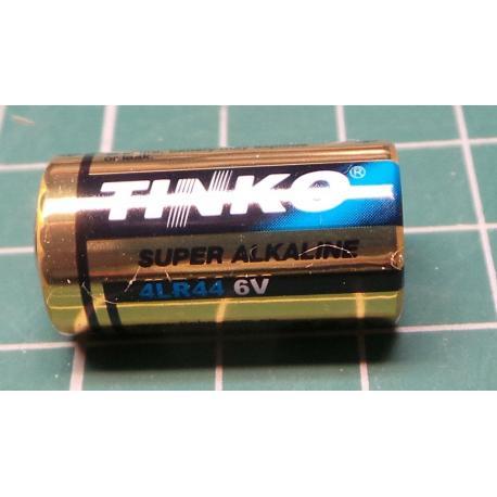 Battery 4LR44 6V alkaline Tink