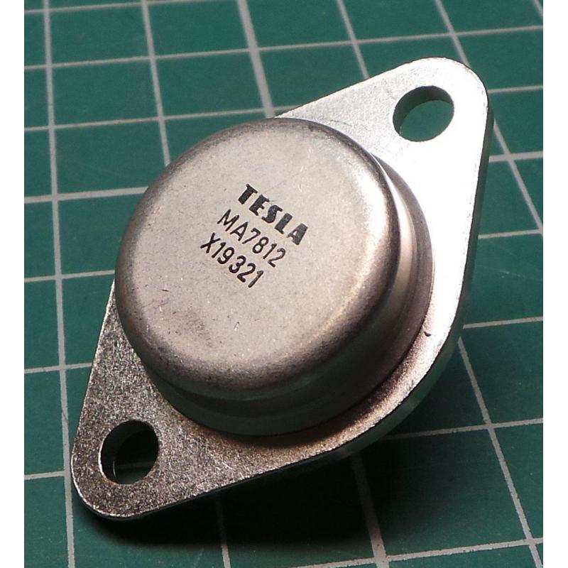 7812 Voltage Regulator 12v 1 5a To3 Case Dsmcz