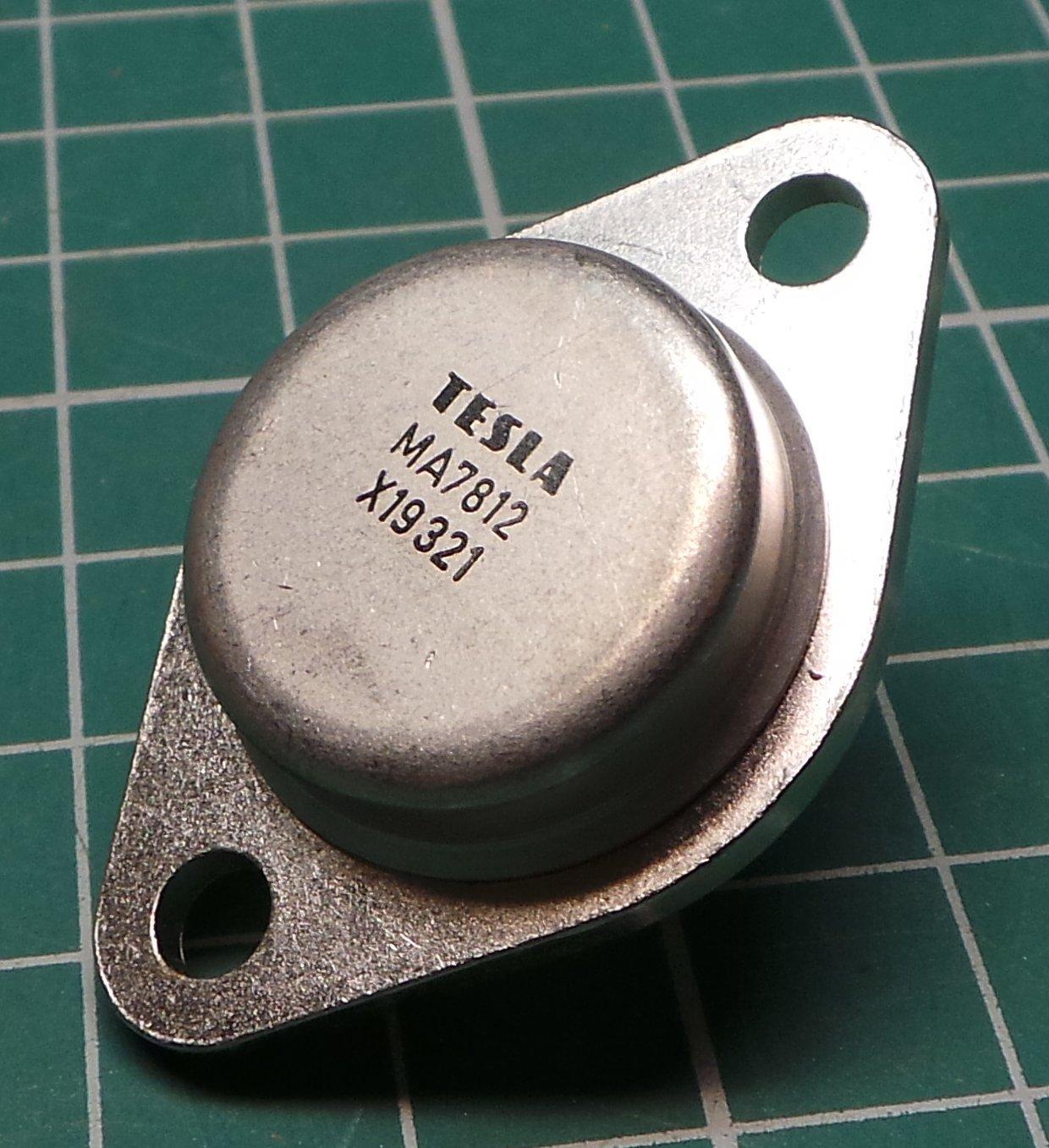 7812 Voltage Regulator 12v 15a To3 Case Dsmcz Circuit