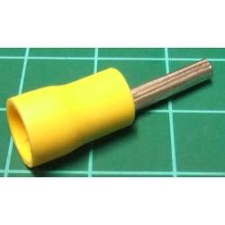 Terminal pin yellow