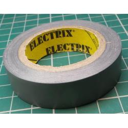 Insulating tape 0,13x15mmx10m ANTICOR - gray