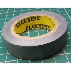 Insulating tape, 0.13 x 15mm x 10m, gray