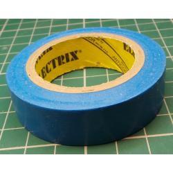 Insulating tape, 0.13 x 15mm x 10m, light blue