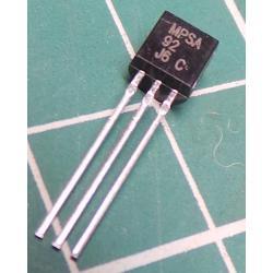 MPSA92 P 300V / 0.5A 50MHz 0,625W TO92