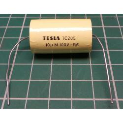 10u / 100V TC205, rolled capacitor
